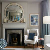 Drawing Room Fireplace - Modern Victorian Oxford House