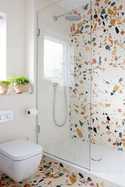 Shower Room - Modern Colourful Thirties House
