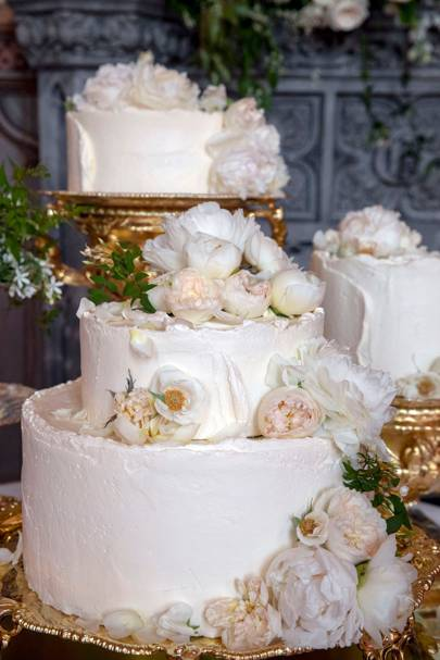 Harry and Meghan's wedding cake
