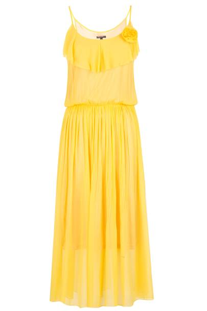 Yellow Fontaine Maxi Dress