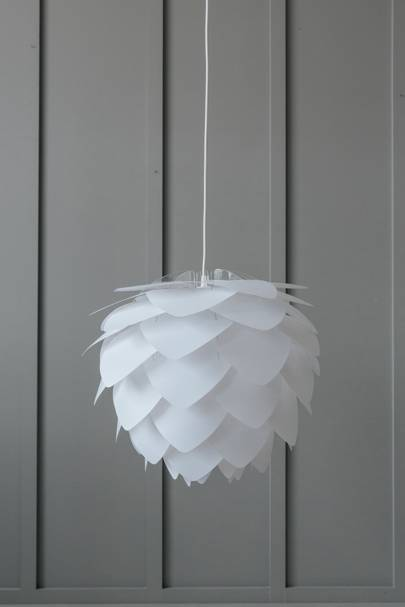 1. Silvia Lamp Shade in White - Small