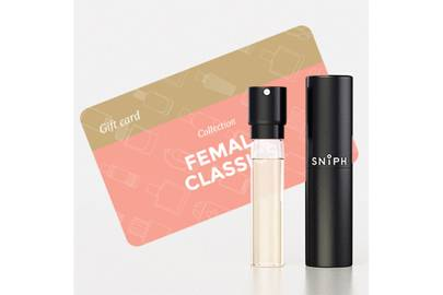 February 10: Sniph Box with Female Classics Fragrance and Gift Card, £36.00