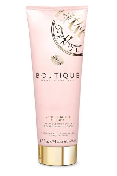 August 30: Boutique Vanilla Blush & Peony Body Scrub, £5