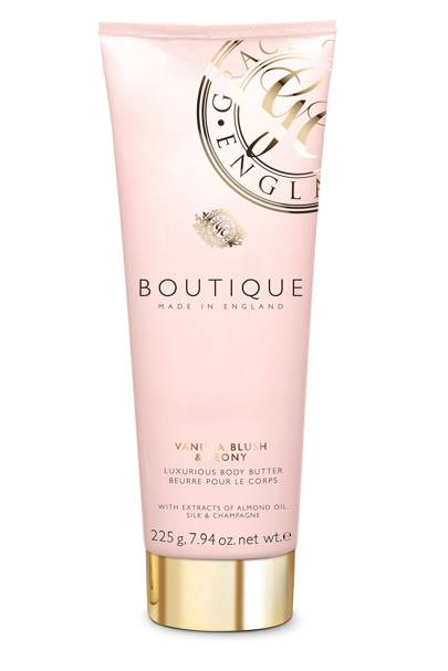 August 30: Boutique Vanilla Blush & Peony Body Scrub, £5