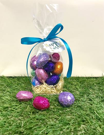 So Sweet Couture Dairy Free Milk Chocolate Easter Eggs Gift Bag, £9.95