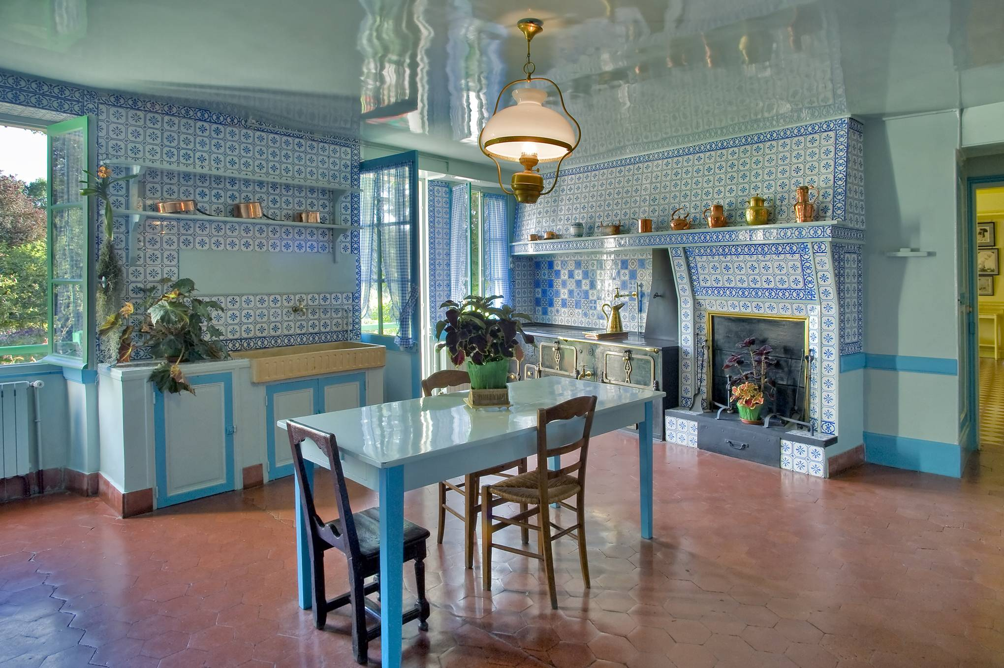 Forget the gardens: the best part of Monet's Giverny home is the kitchen