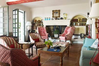 Country-Style Living Room in France | Living Room Ideas