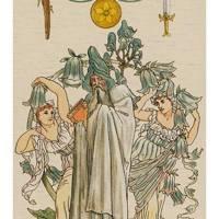 The Magician from The Harmonious Tarot