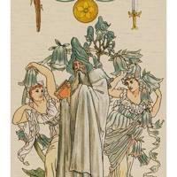 The Magician from The Harmonious Tarot