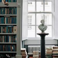 Classical Bust Bookshelf