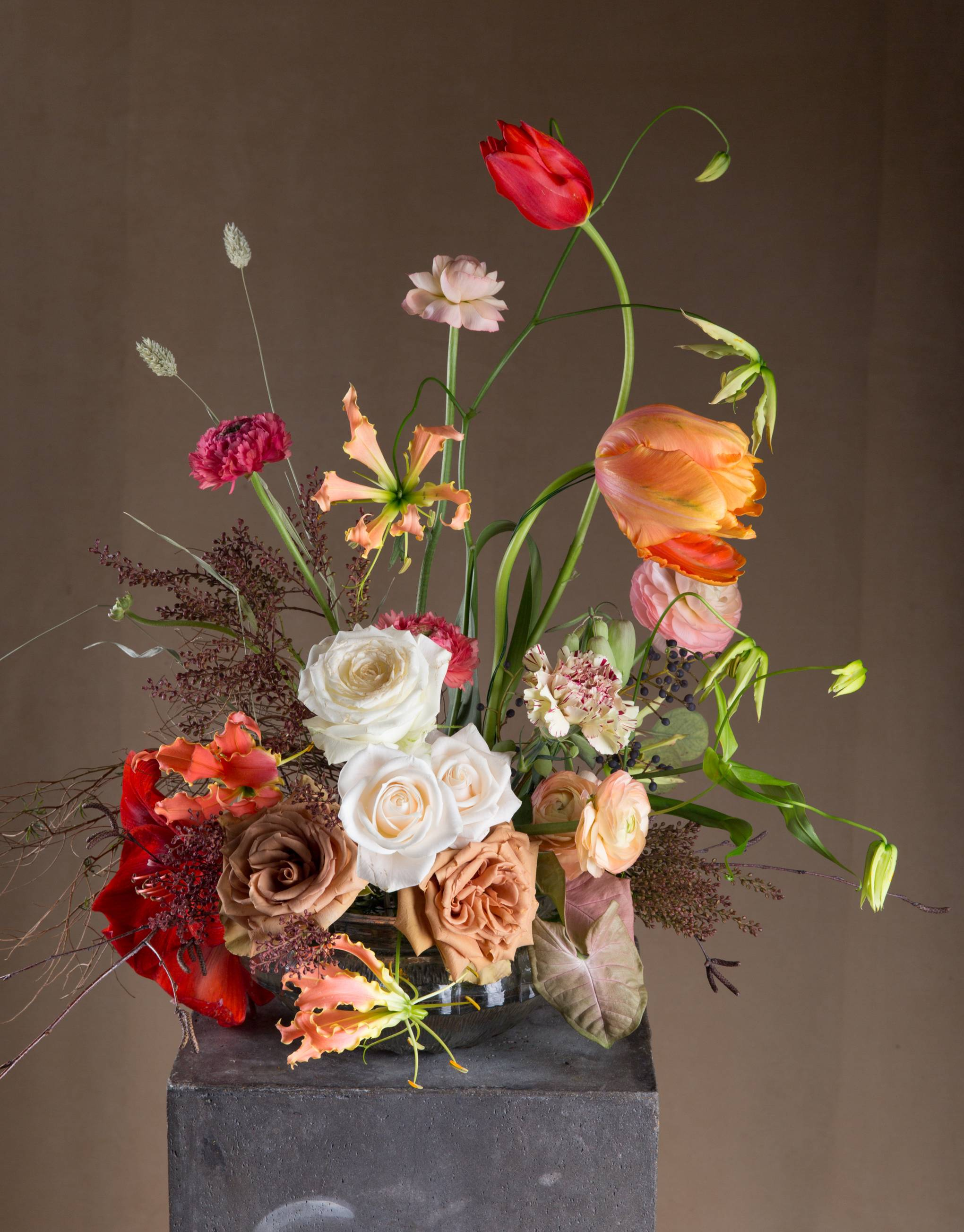Flower workshops: the Dutch Masters course at London Flower School