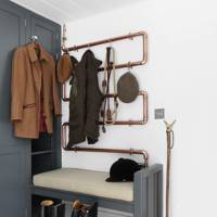 Copper Piping - Utility Room Ideas