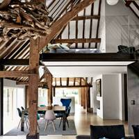 Open-plan Living Area - Modern Rustic Barn