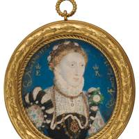 Elizabethan Treasures: Miniatures by Hilliard and Oliver, until May 19