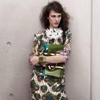 Silk Dress, Bag & Bracelet