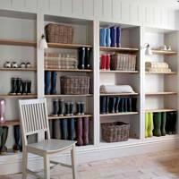 Adjustable Shelves - Utility Room Ideas