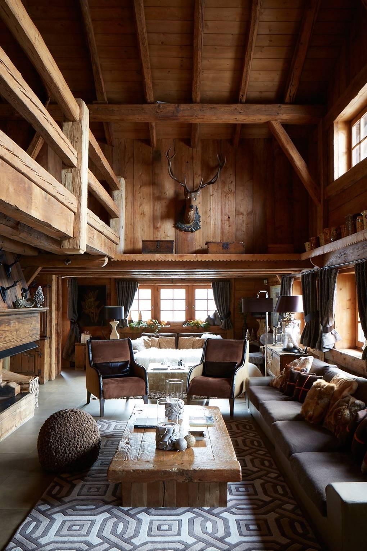Rustic Interior Design House Garden