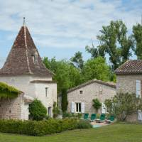 View of the Barns - French Farmhouse | Real Homes