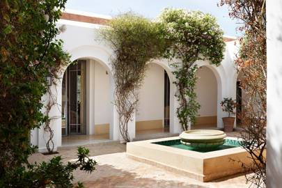 Courtyard - Moroccan House