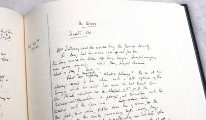 A new edition of Mrs Dalloway printed directly from Virginia Woolf's hand-written manuscript