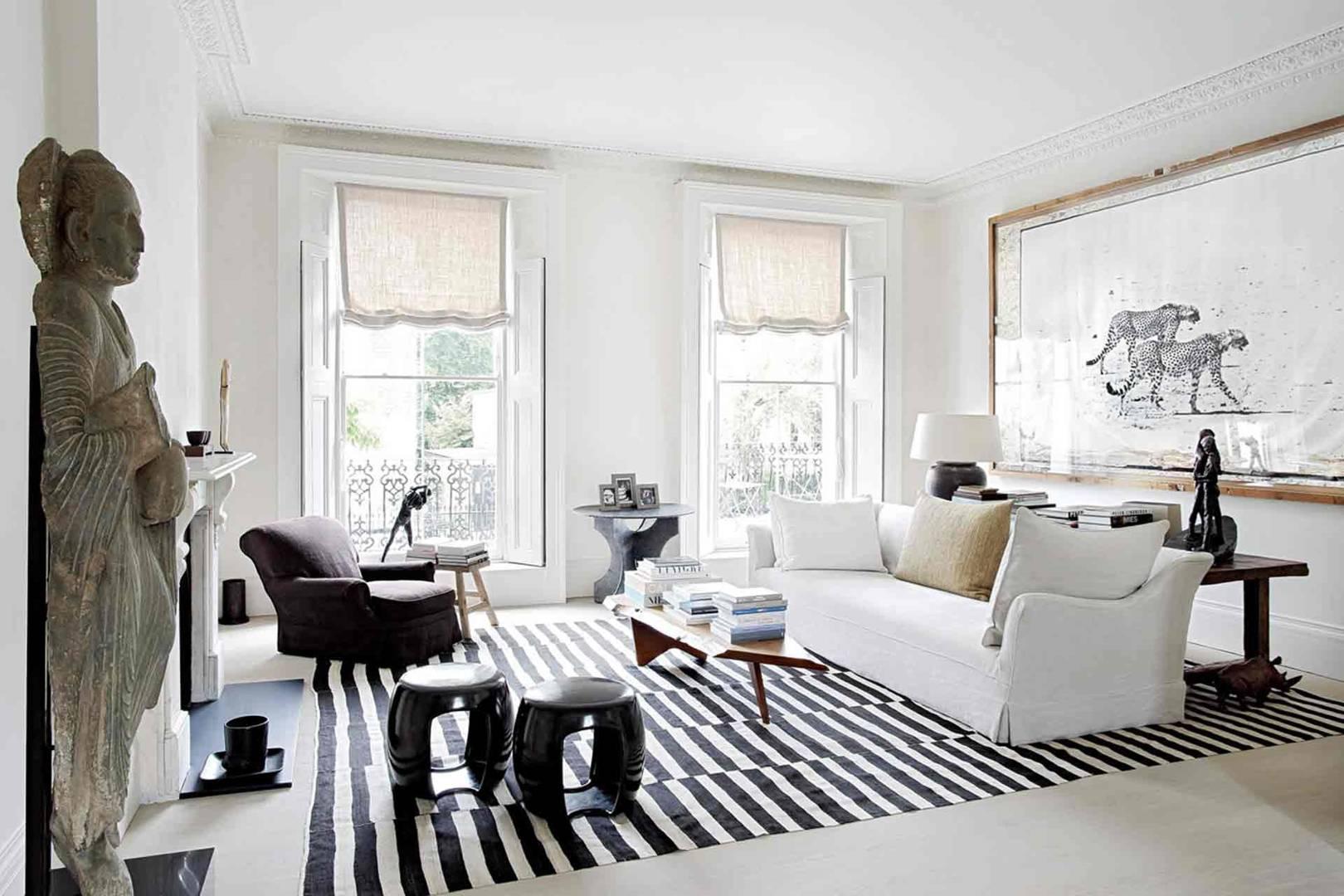 Colour combination living room design ideas & pictures