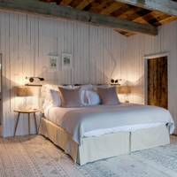 Panelled Farmhouse Bedroom