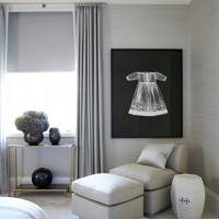 Bedroom Seating - Modern Park Avenue Apartment