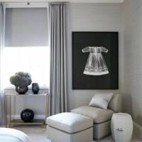 Bedroom Seating - Modern Park Avenue Apartment