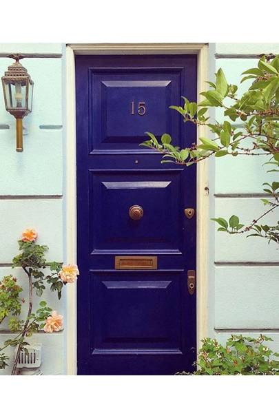 London Blue Door - Door J'adore