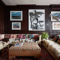 Cosy wood panelling