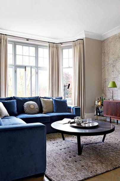 Seating Ideas For A Small Living Room: How To Decorate With Velvet