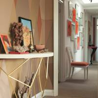 View into Corridor - Ashely Hicks Bright London Flat