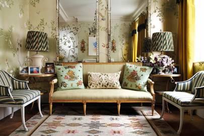 Bold Comfort   Living Room Design Ideas U0026 Pictures   Decorating Ideas