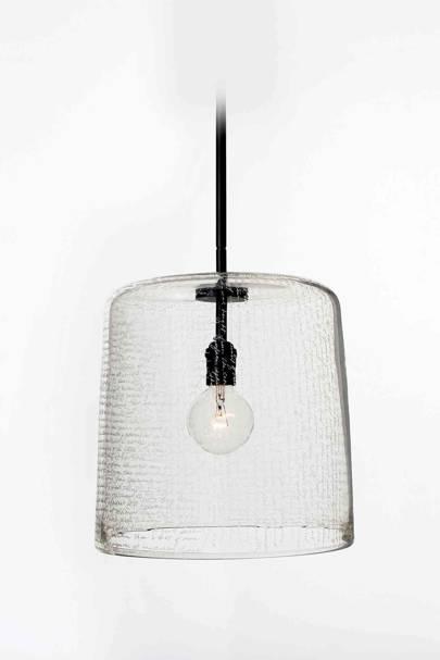 Clear Glass Pendant Light