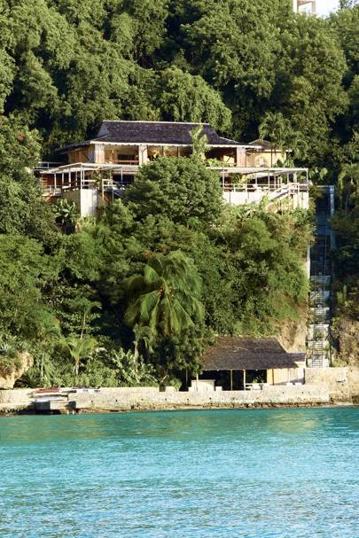 Bamboo House Mustique