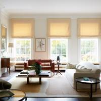 Bright Neutral Living Room by Rita Konig