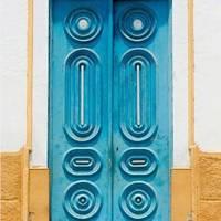 Blue Brazil Door - Door J'adore