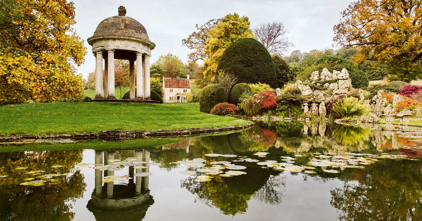 The magnificent garden at Belcombe Court in Wiltshire combines the best of old and new