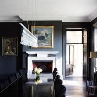 Dining Room Fireplace - Somerset Country House