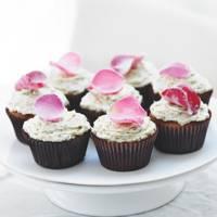 Rachel Allen's rose-water pistachio cupcakes