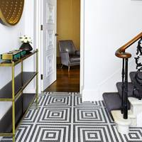 Black Wool Stair Carpet Runner