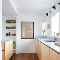 Kitchen Worktops - Modern Colourful Thirties House