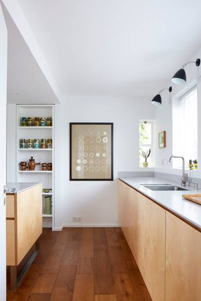 Kitchen Worktops - Modern Colourful Thirties House