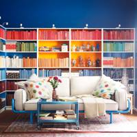Colour-Coded Bookcase