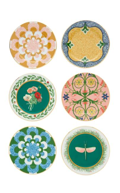 Le Double J Housewives maximal desert plates, £225