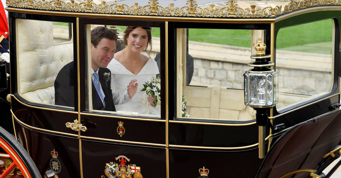 So that's where Princess Eugenie is reportedly now living