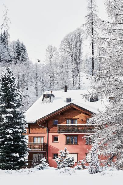 Swiss House Exterior