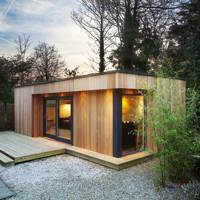 Wooden Eco Garden Room