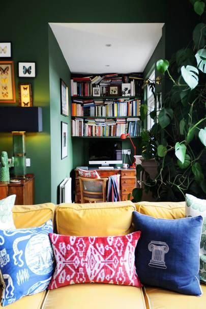 Green Alcove Study