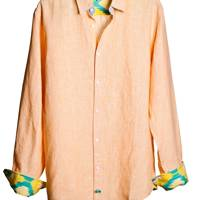 July 1: Malabar Peach Men's Shirt, £80, from Tobias Clothing